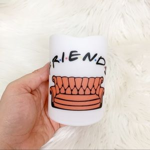 Friends theme flickering battery powered candle